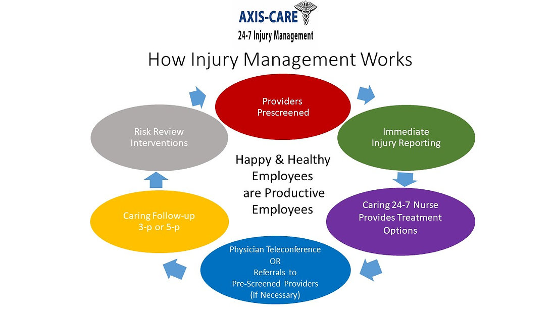 industry leading workplace injury mangement system