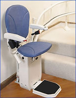 Ameriglide Curved Platinum Stair Lift