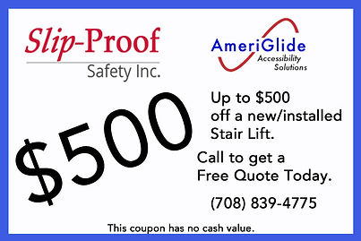 Slip Proof $500 Coupon