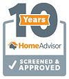 Home Advisors 10 years Badge