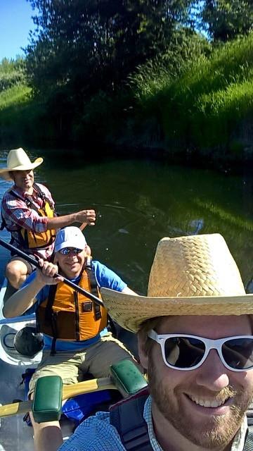 Commuting by Canoe