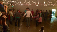 Newly minted farmers square dance