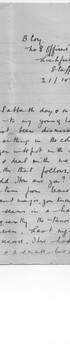 Oliver's Letter