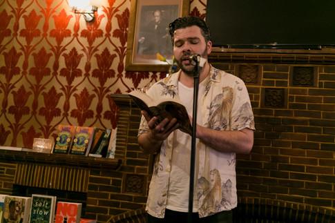 Daniel James, author of The Unauthorised Biography of Ezra Maas