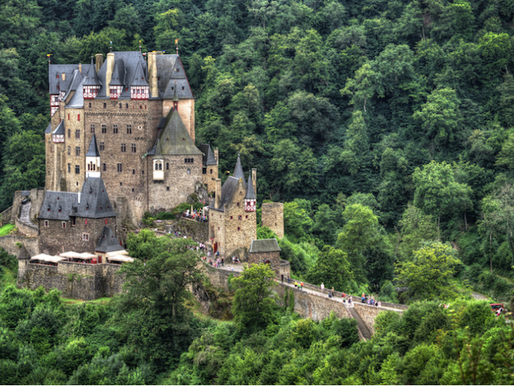 The 7 Castles of Germany (out of 25,000!)