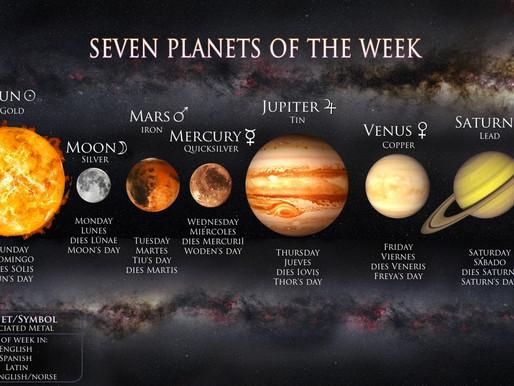 Days of the week word origins