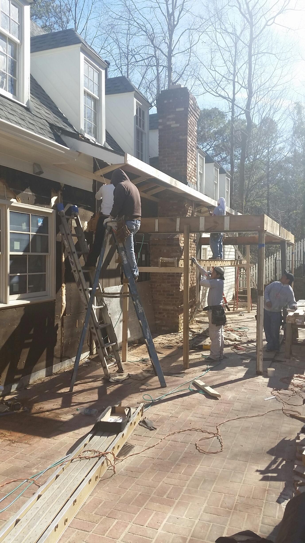 During Demolition...