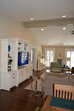 Finished Media Cabinetry