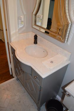 Custom Powder Room Vanity
