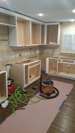 Day 1, Cabinet Installation
