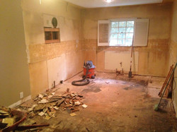 Post Kitchen Demolition