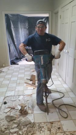 Day 1, Demolition