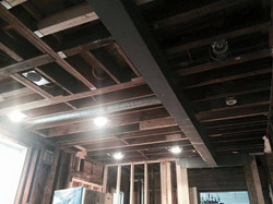 Steel Beams and columns installed