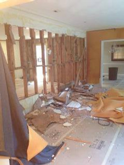 Day 1 of Demolition