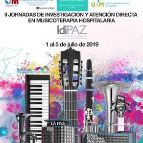 II JORNADAS DE INVESTIGACIÓN Y ATENCIÓN DIRECTA EN MUSICOTERAPIA HOSPITALARIA