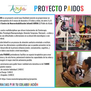 Musicoterapia en el Proyecto PAIDOS