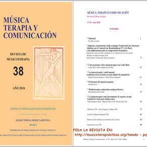 Nueva Edición de la Revista de Musicoterapia del CIM