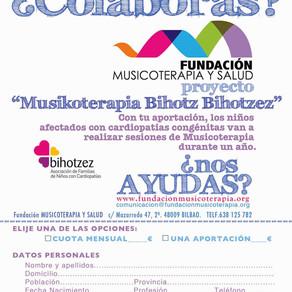 "Proyecto ""Musikoterapia Bihotz Bihotzez"""