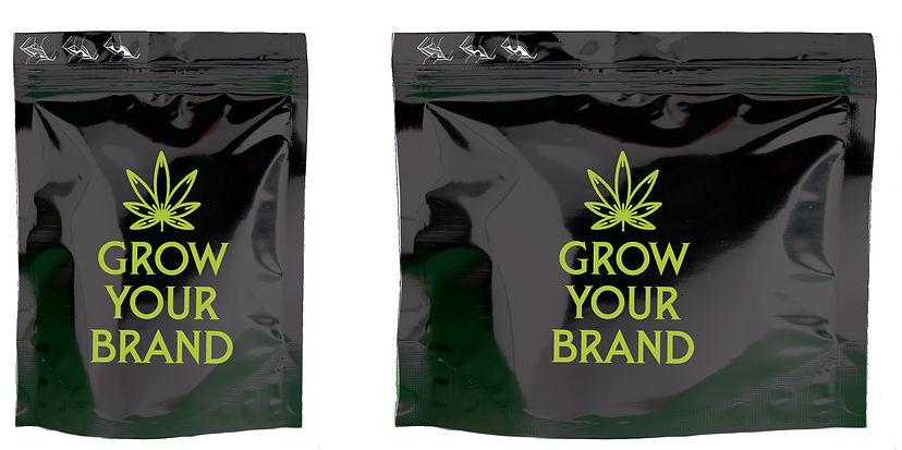 Custom Sizes Child Resistant Cannabis Bags