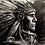 Thumbnail: Quadro Decorativo Cacique (Indio Nativo Americano)
