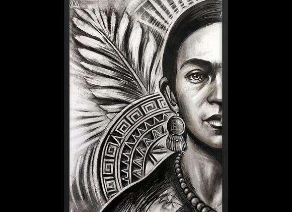 Quadro decorativo Frida Khalo