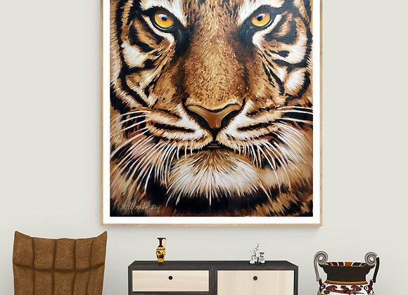 Quadro Original Tigre (RAJAH)