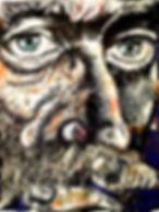 Ninfa, Série Elementais (acrílica sobre tela)