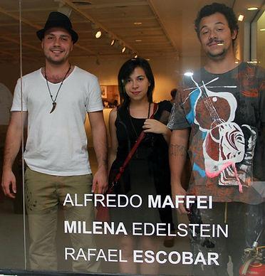 exposição artista plastico brasileiro alfredo maffei