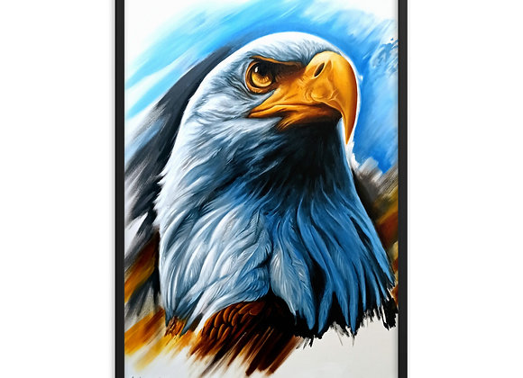 Quadro Decorativo Aguia Animal de Poder