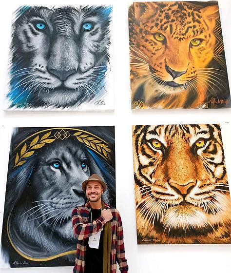 Artista plastico brasileiro Alfredo Maffei
