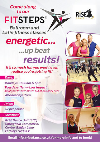 Adult Dance Fitness Fitsteps Classes Leeds
