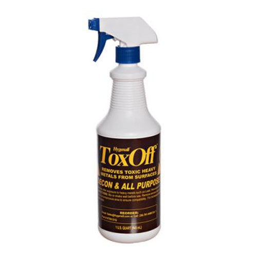 TOSE1QSB ToxOff™ Wipe on, Wipe off, Non-Porous Surface Cleaner and Decontaminati