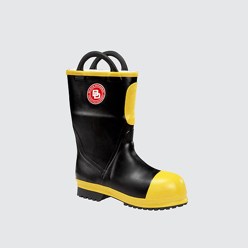 "BLACK DIAMOND 11"" RUBBER FIRE BOOT"