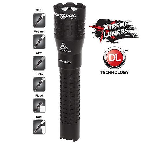 NightStick NSR-9854XL  Tactical Dual-Light™ Flashlight – USB Rechargeable