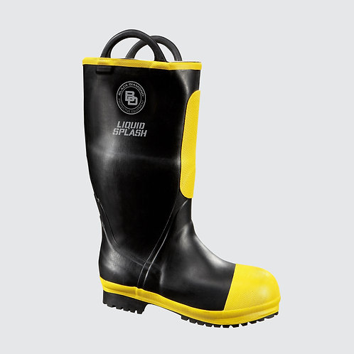 "BLACK DIAMOND 16"" RUBBER FIRE BOOT"