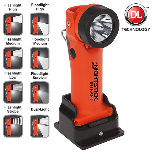 NightStick INTRANT™ Intrinsically Safe Dual-Light™ Angle Light - Rechargeable
