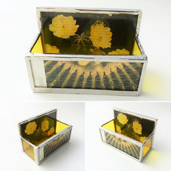 Business Card Holder Yellow