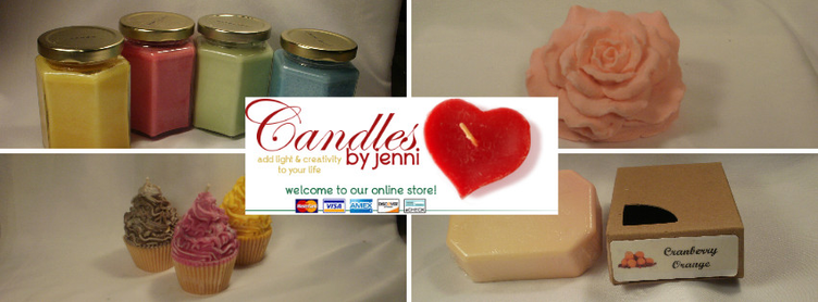 Candle by Jenni