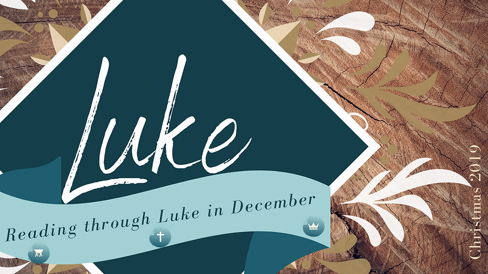reading through Luke slide Christmas 201