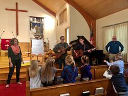 Sunday school music fall 2019