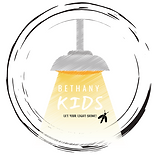 Light Green Bulb Children & Kids Logo (1