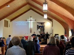 Sunday morning worship music fall 2019