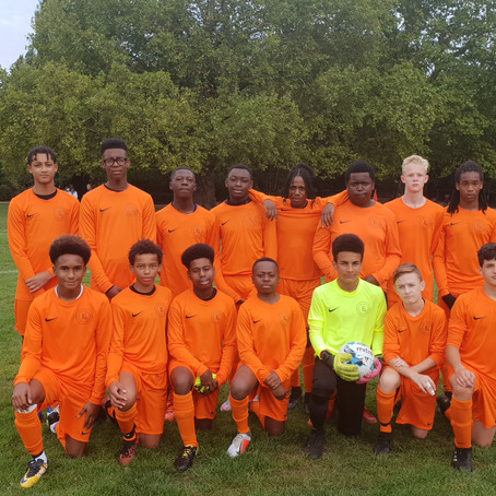 Elite U15's beats Balham 3-1