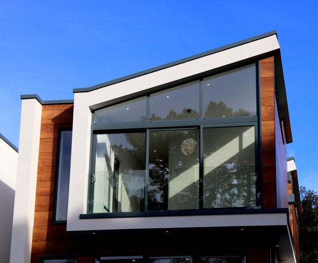 Environmentally friendly construction material - Steel window frames.