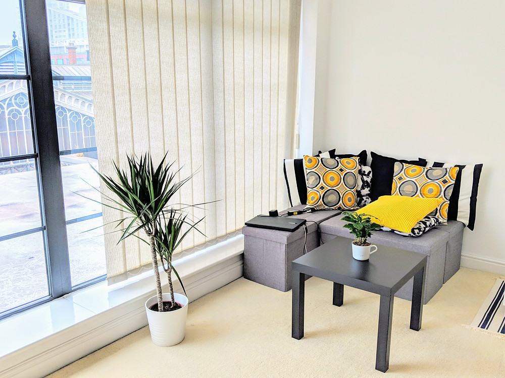Barbulianno rented apartment decor