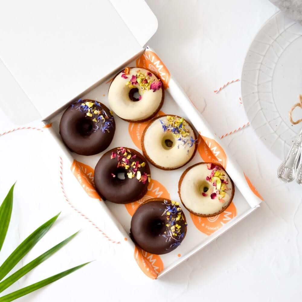 Vegan Chocolate Doughnuts, Eco Friendly Gift