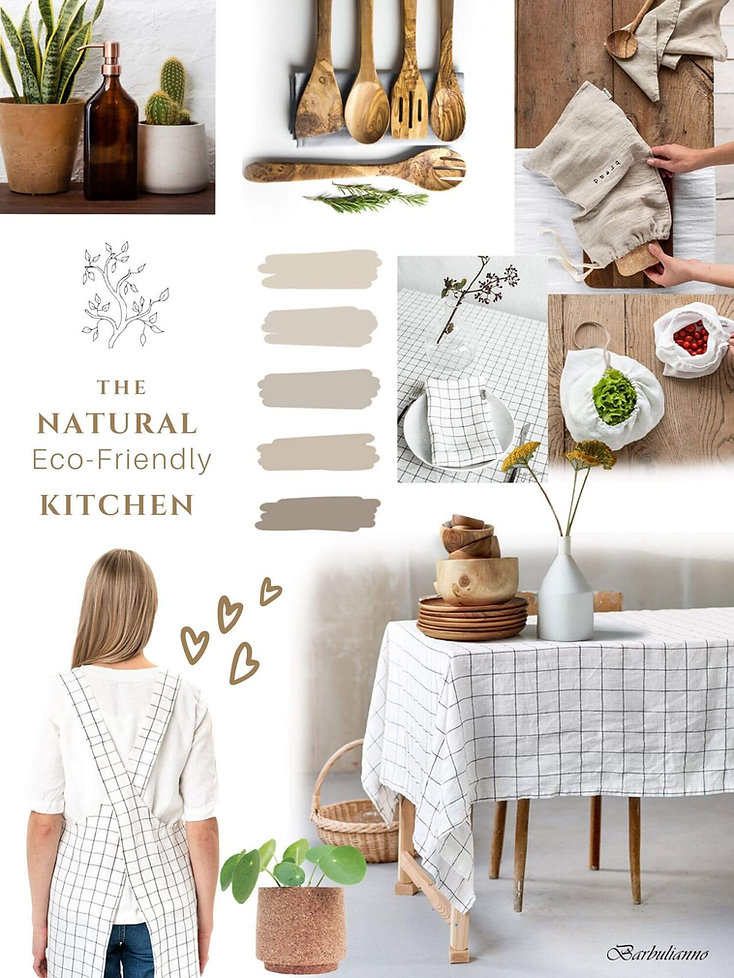 How to Decorate Kitchen Eco-Friendly_ Ba