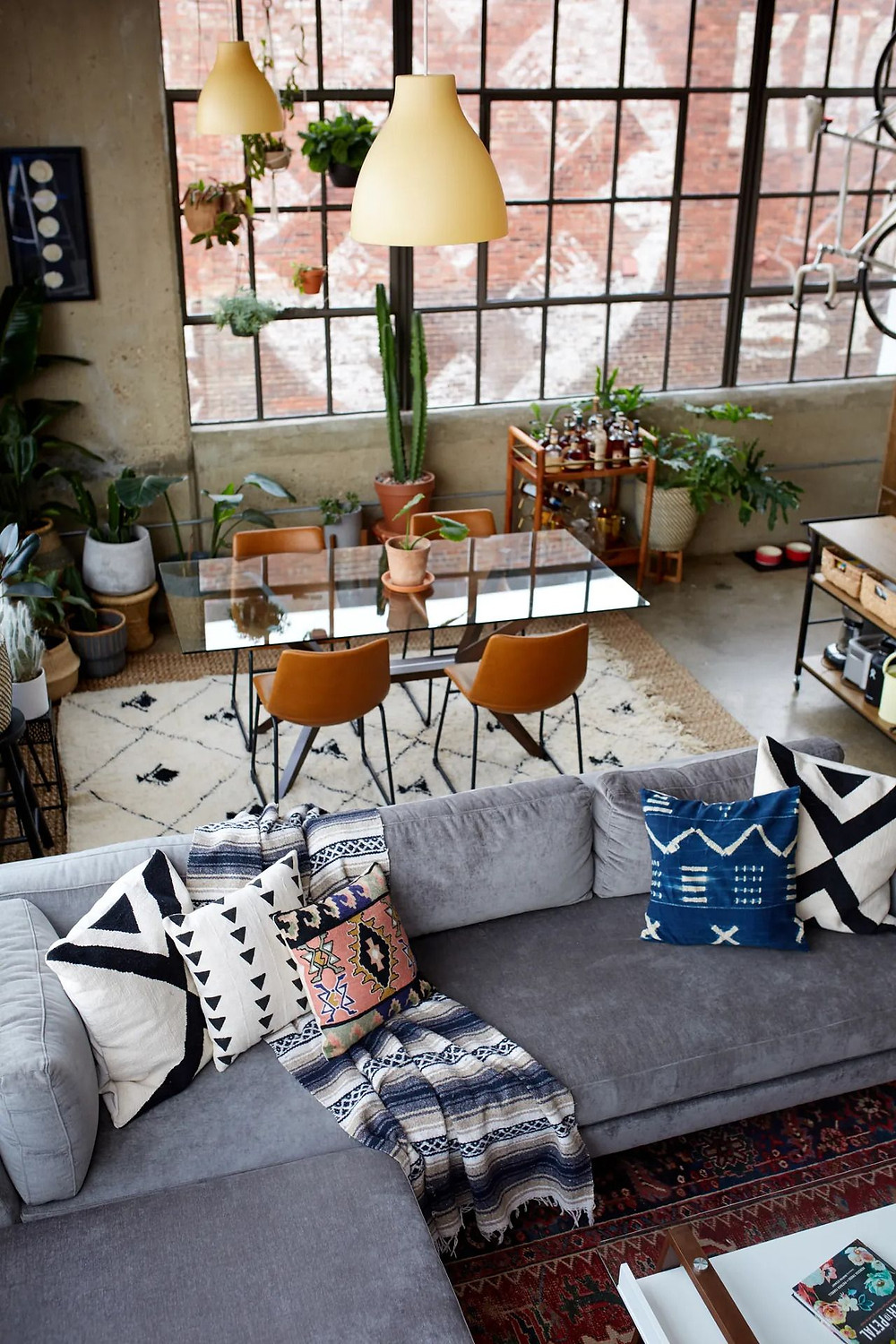industrial style design how to add the warmth