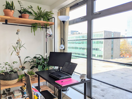 10 Tips To Create a Home Office With The Things You Already Have