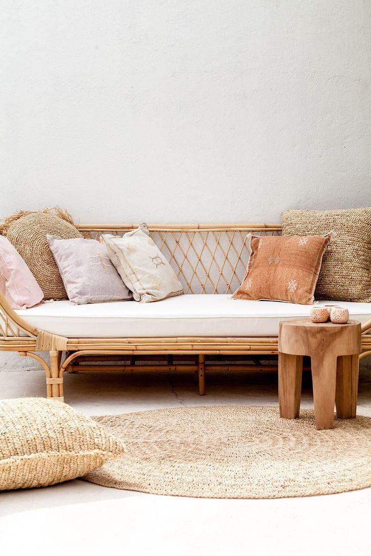 Rattan furniture living room decor